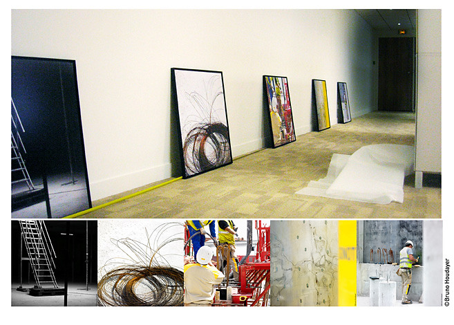 Creations for permanent exhibition - Area Property headquarter - Paris