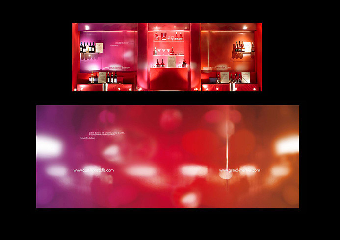 Window display creation for Grand Marnier - Alverone agency