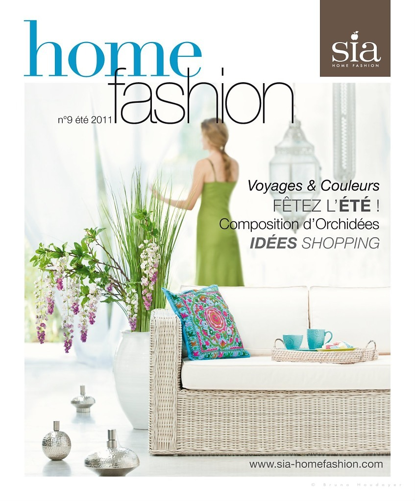 International cover for summer SIA HOME FASHION magazine