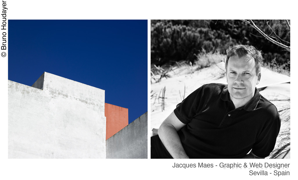 Jacques Maes // web & graphic designer in Sevilla - Spain Personal and corporate portraits