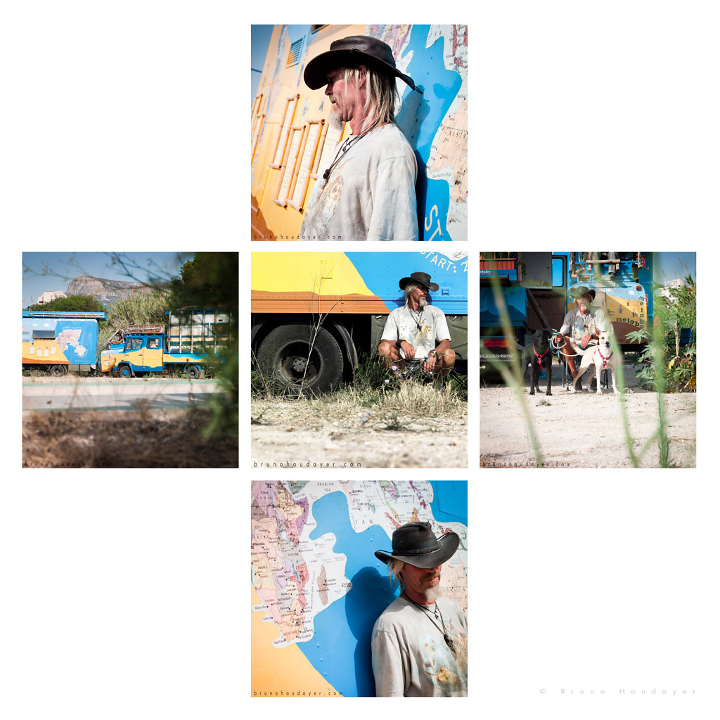 Portraits : German Globetrotters Carpenters - Costa Blanca / Spain