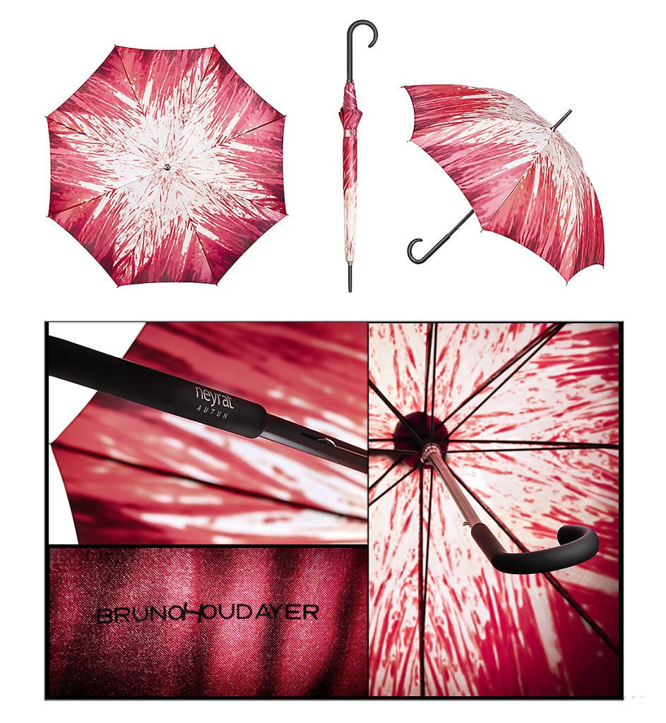 Edition limitée signée pour Parapluies Neyrat France
