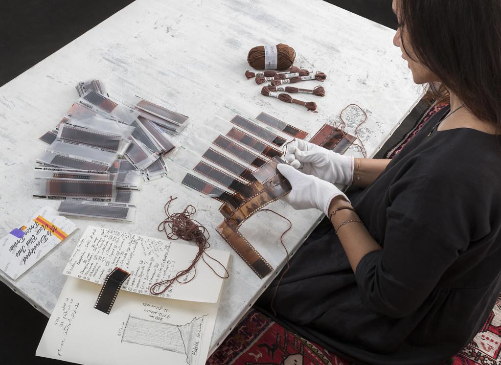 Portrait Shadia Alem - Visual Artist  for Quartz Magazine // Cartier Sponsor