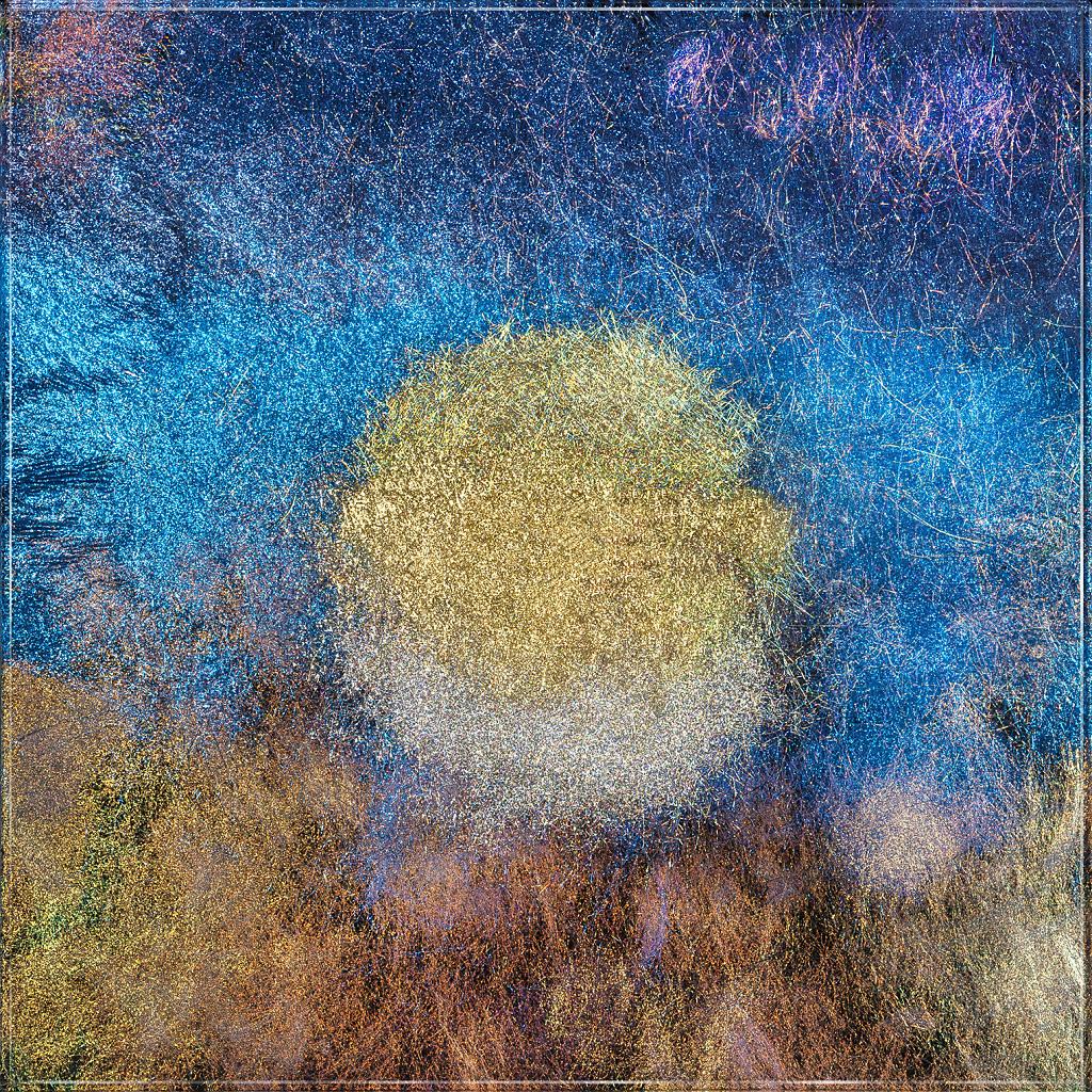 Photographie tableau verre & fibres de Fanny Desombiaux