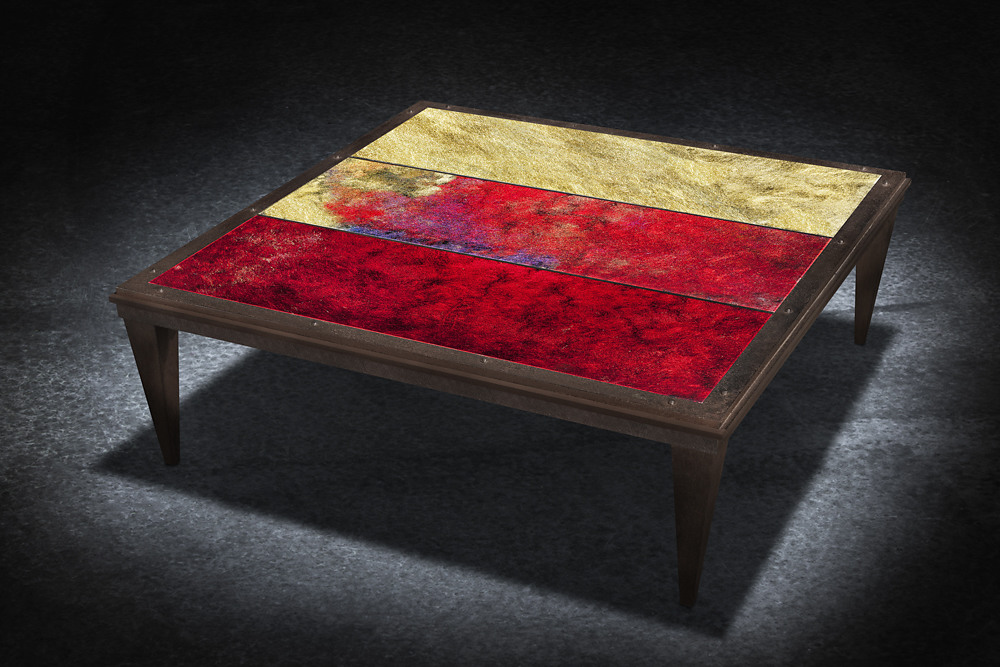 Table basse Cassiopéa de Glass and Art by F.