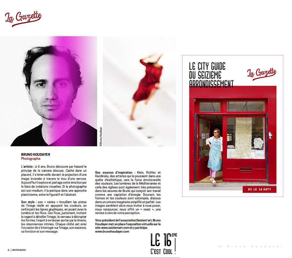 Publication Bruno Houdayer - La Gazette du 16e by Le 16cc
